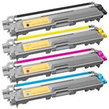SET Toner-Patrone rebuilt Brother TN-241/245SET, BK/C/M/Y,  HL-3140CW/3150CDN/3150CDW/3170CDW, MFC-9130CW/9140CDN